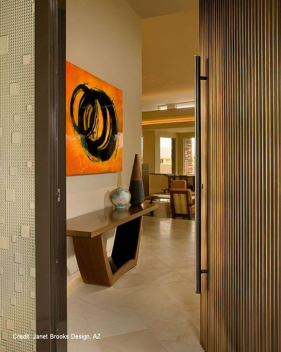 Carnegie Engravedcarvings Modern Contemporary Door