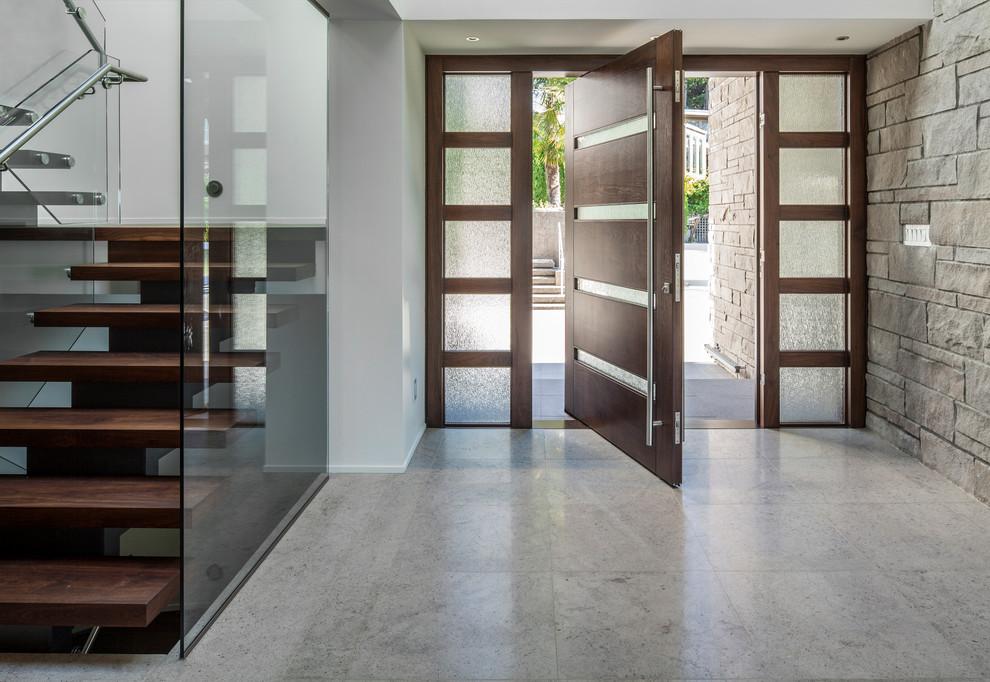 Carnegie Modern Contemporary Door Pulls Handles for Entry