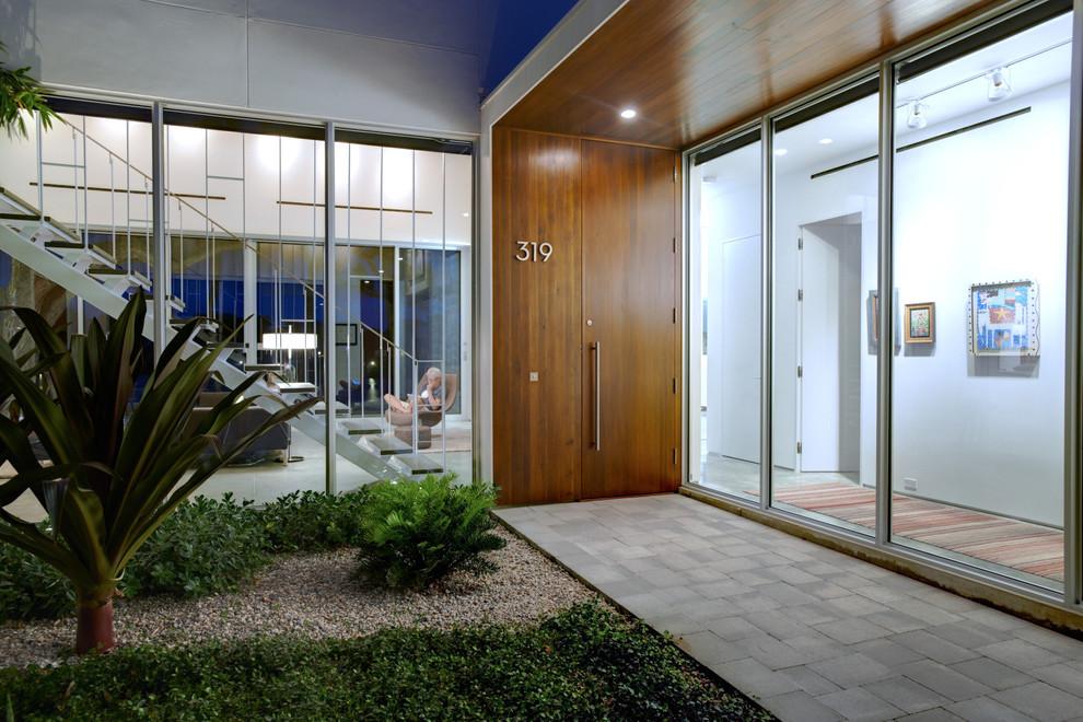 Modern Home Entrance Design Ideas: Roosevelt Modern & Contemporary Door Pulls