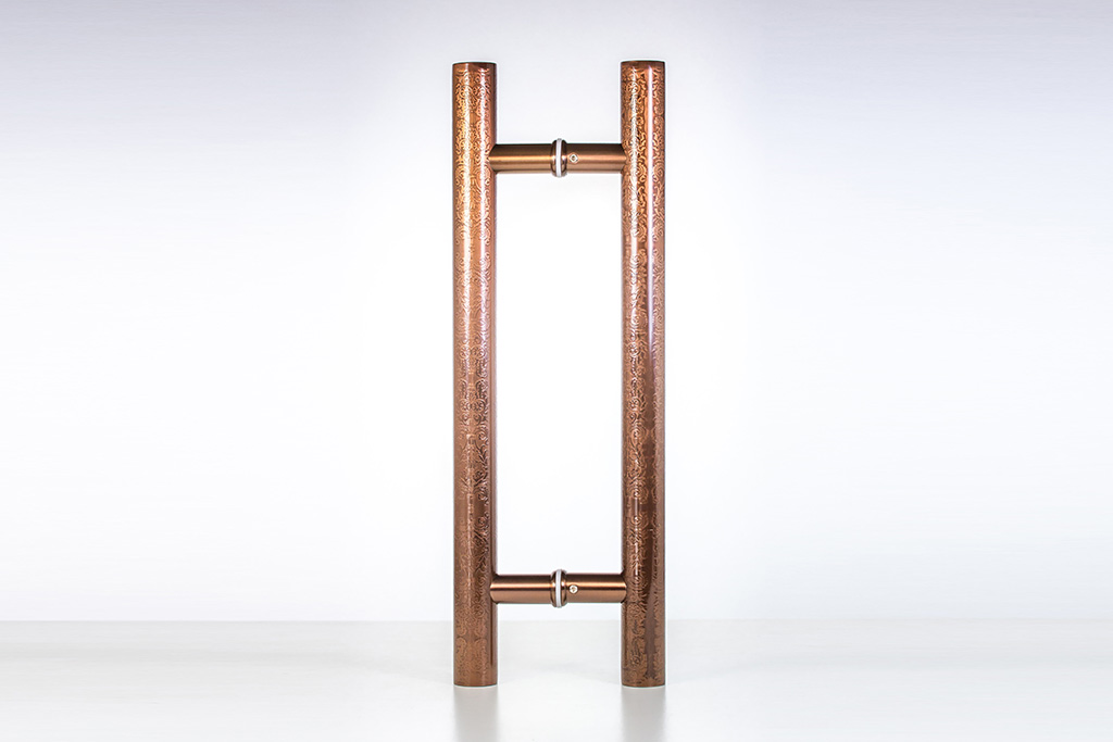Brushed Copper Cabinet Hardware