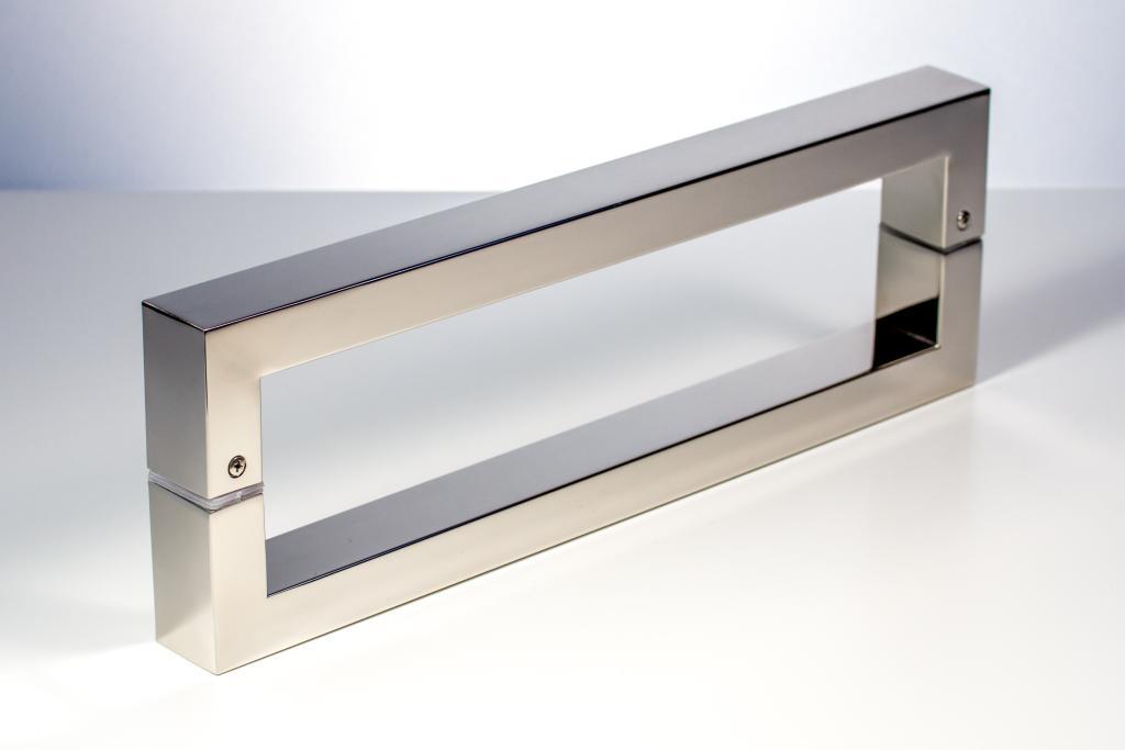 Rockefeller modern contemporary door pulls handles for for Door pull handles