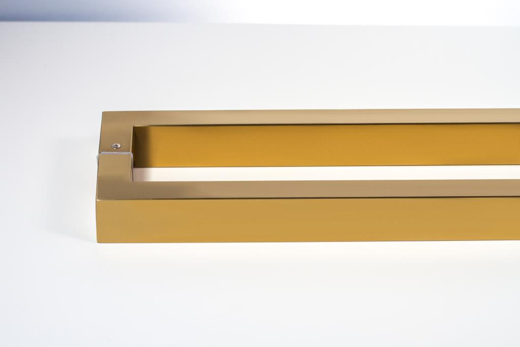 Gold-Plated, Brushed (Satin Finish)